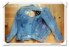 picture photograph embroidered denim jacket hippy 2007 copyright of sam breach http://becksposhnosh.blogspot.com/