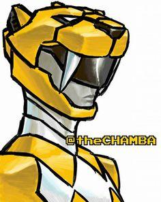 015 - YellowRanger by theCHAMBA on DeviantArt