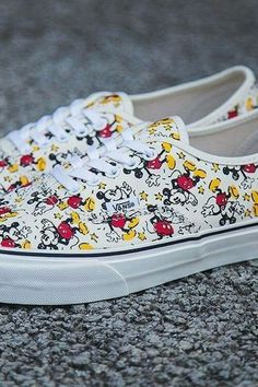 Mickie mouse vans