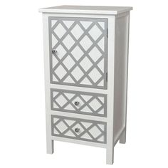 Gallerie Decor Trellis Accent Cabinet - Overstock Shopping - Great Deals on Coffee, Sofa & End Tables