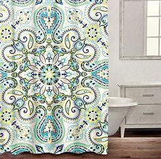 Caro Home Luxury Bohemian Mandala Medallion Cotton Shower... https://www.amazon.com/dp/B01IRVI8ZC/ref=cm_sw_r_pi_dp_lTDMxbNVDT9Y0