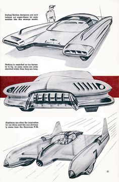 GM Cars of Tomorrow.  Could you guys even imagine if GM made cars like these?