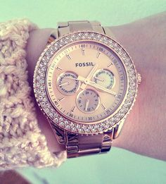 In love w/ this Fossil rose gold watch Jewelry Accessories, Fashion Accessories, Fashion Jewelry, Fossil Watches, Wrist Watches, Watches Usa, Rose Gold Watches, Diamond Are A Girls Best Friend, Jewelry Watches