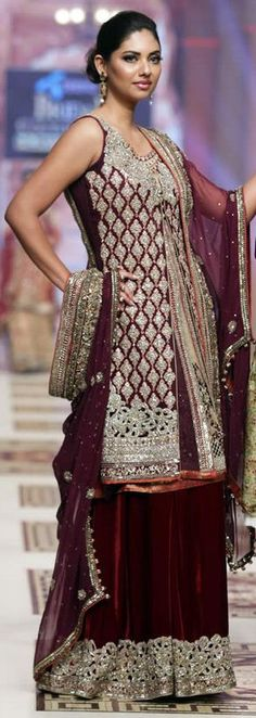 #Asifa&Nabeel #TelenorBridalCoutureWeek 2014 #KlahCollection  #bridaldresses #weddingcollections #bridalcollections