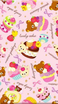 Rilakkuma lovely cakes