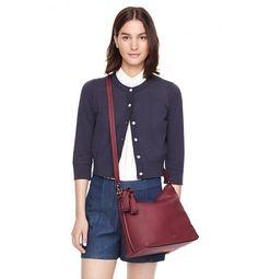 Kate Spade Orchard Street Small Natalya Bag Merlot.  #outfitideas #handbag