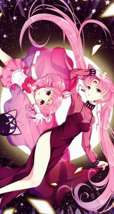 The Black Lady and Chibiusa