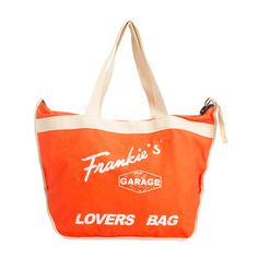 Lovers Beach Bag Orange Beige, 63€, now featured on Fab.