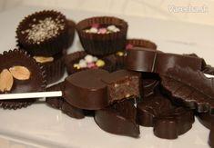 Arašidové alebo sezamové ľadové čokoládky (fotorecept) Tahini, Sweets, Candy, Chocolate, Desserts, Recipes, Food, Chocolate Candies, Sweet Pastries