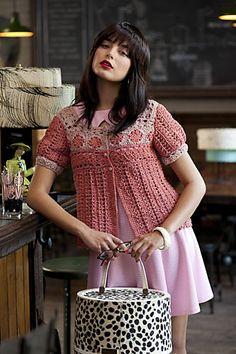 Ravelry: #16 Peasant Cardi pattern by Linda Medina