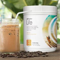 Give your coffee, and your day, a boost with this recipe:   2-3 scoops Shaklee Life Energizing Shake, Vanilla 1 cup beverage of your choice Instant coffee to taste  Directions: Combine all ingredients in blender. Blend until creamy.