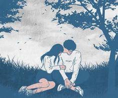 69 Super Ideas For Drawing Love Hug Posts Cute Couple Drawings, Cute Couple Art, Cute Drawings, Romantic Drawing, Cute Couple Wallpaper, Cute Love Cartoons, Couple Illustration, Sad Art, Cute Cartoon Wallpapers