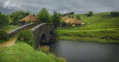 """Hibbiton - Movie set of Peter Jackson """"Lord of the Rings"""" and """"Hobbit"""". Still beautiful. Welcome to visit my   <a…"""