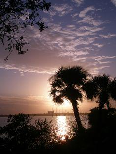 Sunset Cocoa Beach, FL
