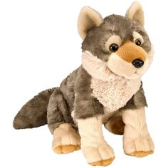 Free Shipping when you buy Wild Republic Cuddlekin Wolf Plush Stuffed Animal at Wayfair - Great Deals on all Baby and Kids products with the best selection to c...