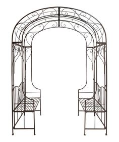 Another great find on #zulily! Iron Bench Arch by  #zulilyfinds