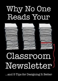 Why No One Reads Your Classroom Newsletter - 5 common newsletter flaws and how to fix them. Guest post on Corkboard Connections 2/4/15
