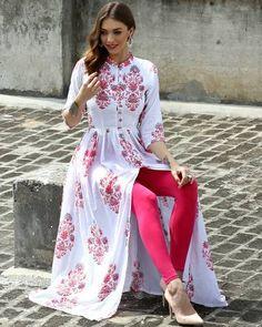 Shop from Indian Fashion Designer Desi Doree Indian Fashion Designers, Indian Designer Wear, Pakistani Outfits, Indian Outfits, Hijab Fashion, Fashion Dresses, Fashion Suits, Modele Hijab, Saris