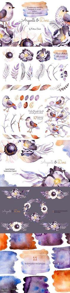Argente and Dore. Watercolor Set 501249