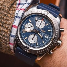 "Breitling​ Colt Chronograph Automatic Watch For 2015 Hands-On - by David Bredan - see the pictures & read about the watch that has finally converted David to Breitling on aBlogtoWatch.com ""Breitling is a tough one for me. I have for long appreciated the engineering that goes into their watches and the overall quality all that results in – I have, however, just never fallen in that deep, relentless love with any of their designs thus far..."""