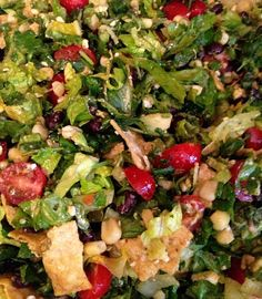 Mom Explores Michigan: Good Eats: Recipe: South of the Border Chopped Salad with Sweet Lime-Cumin Vinaigrette
