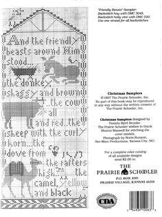 PRAIRIE SCHOOLER CHRISTMAS SAMPLERS 04