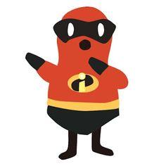 "Costume of ""The Incredibles""  ミスターインクレディブル!"