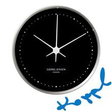 Clock by Henning Koppel for Georg Jensen Color Schemes, Clock, Pattern, Design, Living Room, Home Decor, Products, R Color Palette, Watch