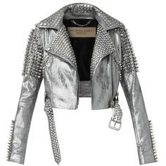 Enfants Riches Deprimes Studded Moto Jacket | Moto jacket, Kim ...