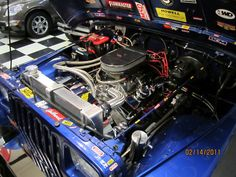 A bp3834ct1 has been installed into the 1967 chevy camaro of customer submission of our bp3834ct1 into his 1994 jeep wrangler blueprintengines crateengine jeep malvernweather Choice Image