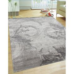 Found it at Wayfair - Modern Hand-Knotted Grey Area Rug