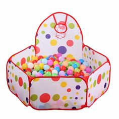 Cheap playpen toddler, Buy Quality tent supplies directly from China tent child Suppliers: Baby Playpens Safety Tents for Children with Basketry Kids Play Tent Mesh Indoor Stress Ocean Ball Pool Play Yard Stress, Baby Playpen, Baby Cots, Polka Dot Theme, Crawling Baby, Kid Pool, Play Yard, Parcs, Child Safety