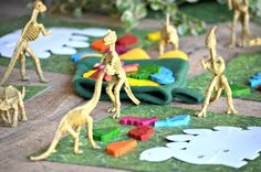 Dinosaurs Birthday Party Ideas | Photo 9 of 32 | Catch My Party