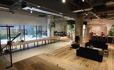 地下に広がる倉庫のようなオフィス空間――AKQA Tokyoの新オフィス | ブレーン 2015年5月号