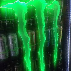 aesthetic photography neon green and black monster energy drinks vending machine alternative grunge edgy Dark Green Aesthetic, Aesthetic Colors, Aesthetic Grunge, Aesthetic Pictures, Green Aesthetic Tumblr, Aesthetic Outfit, Aesthetic Vintage, Photo Wall Collage, Picture Wall