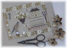 Petits points au jardin xxx: With Needle & Thread