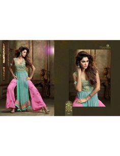 Indian Women's Wear Wholesaler In Surat, Gujarat, India, Maskeen Lavish Embroidery Salwar Suit Full Catalog