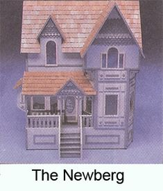 145ee2f7a287 Picture Kit Homes, Queen Anne, Doll Houses, Miniature, Little Cottages,  Dollhouses
