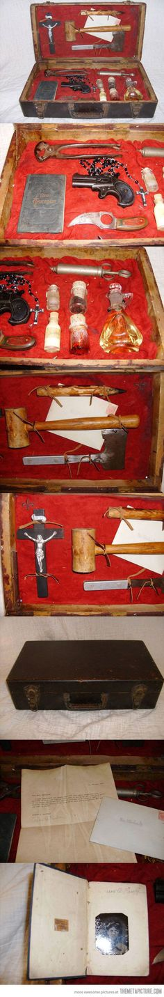 @Alaina Binfet Xmas for papa Reeves next year?    1890 Anti Vampire Kit…