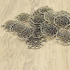 Necklace pendantnecklace charmzinc alloy by WangDesignJewelry