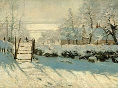 Magpie   1868-69 (100 Kb); Musée d'Orsay, Paris   Monet...
