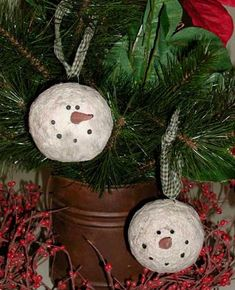 how to make primitive ornaments