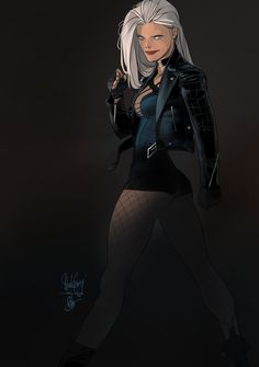 Black Canary by Otto Schmidt *