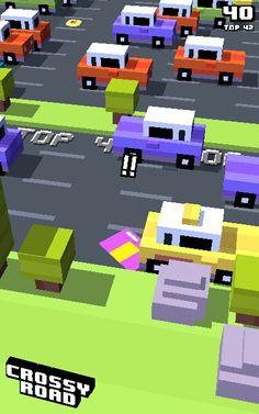 Tryna play crossy road byt failed miserably