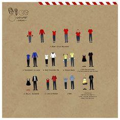 Glee costumes.