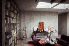 Berlin penthouse of Christian and Karen Boros.