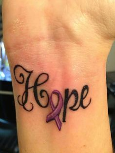 One of my next tattoos. For Crohn's Disease. Placement on my wrist.