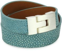 0373887ac6d Shop for Leighelena Double Wrap Turquoise-Color Stingray Bracelet at  ShopStyle.