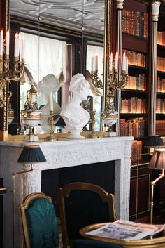 La Réserve Paris Hotel Library | by LostNCheeseland