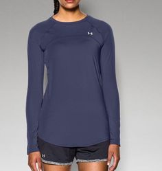 Women's UA Sunblock 50+ Long Sleeve   Under Armour US - perfect for kayaking or long days in the sun.